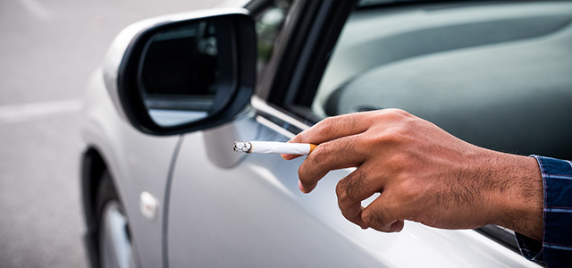 Do you Smoke with Kids in the Car?
