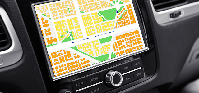 Human Maps are Becoming more Car-Centered