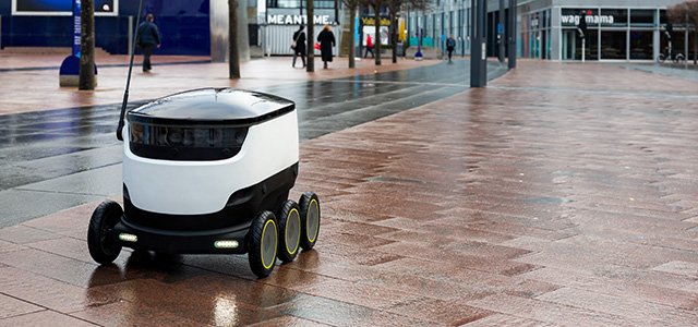 Will Robot Delivery Vans put Delivery Services out of Business?