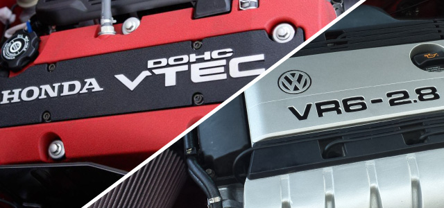 Drag Racing Legends - Honda Vtec vs VW VR6